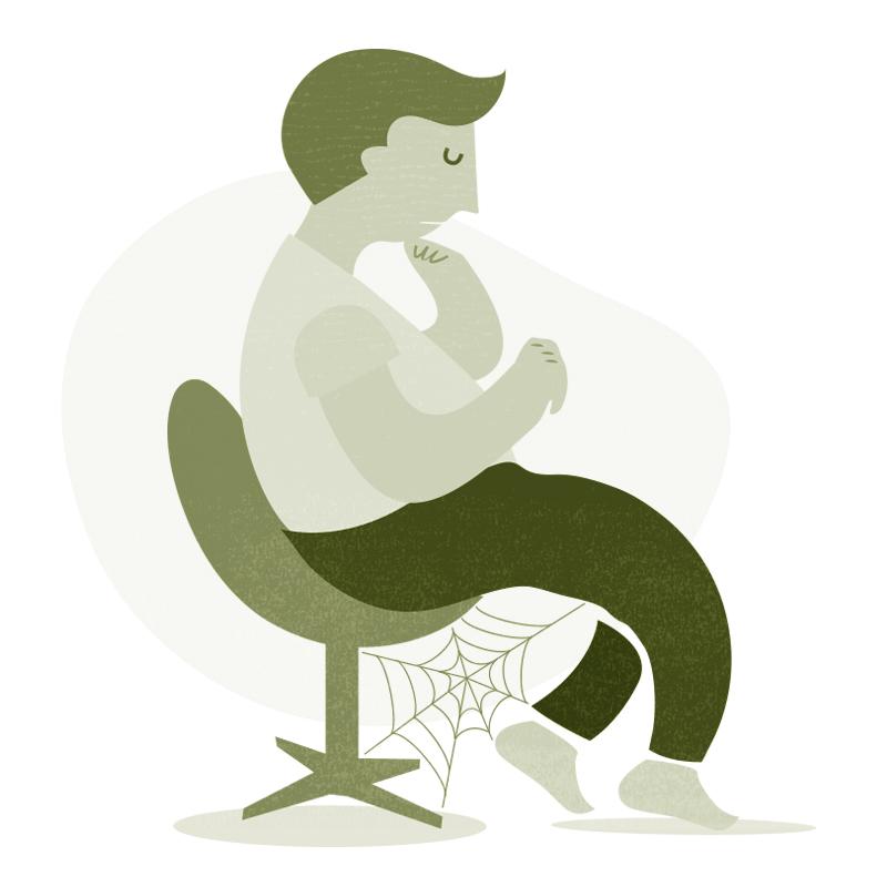 """Eine Illustration für das Kapitel """"Körper, Lifestyle, Sexualität"""" auf der Website von"""